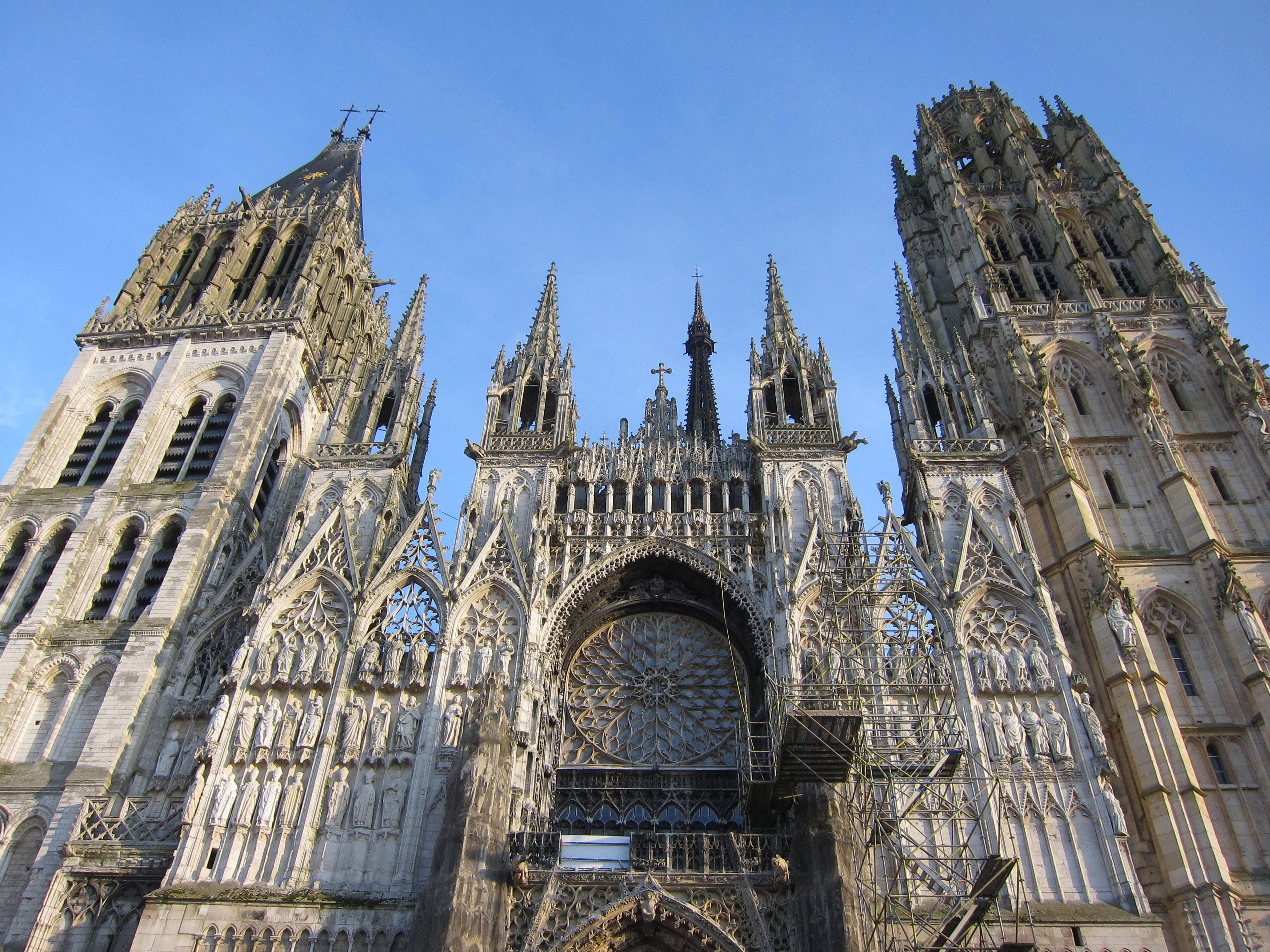 Cattedrale Di Rouen Meraviglia Gotica In Normandia Viaggi Verde Acido