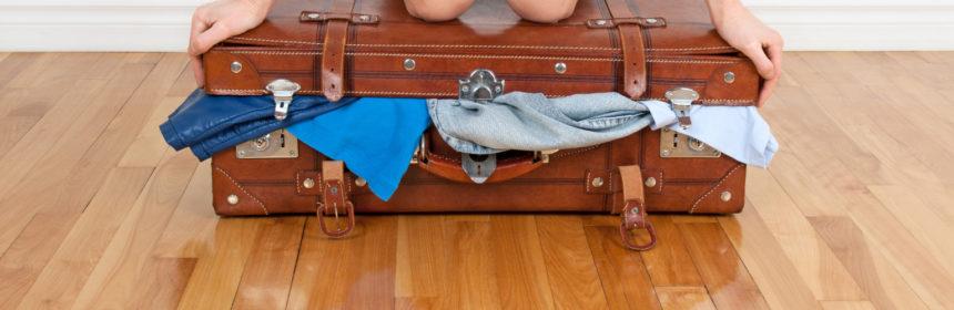 risparmiare spazio in valigia