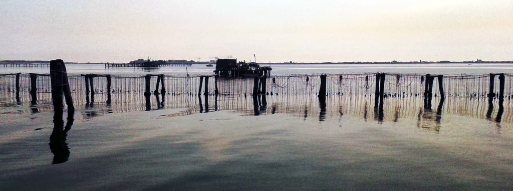 laguna veneta in barca
