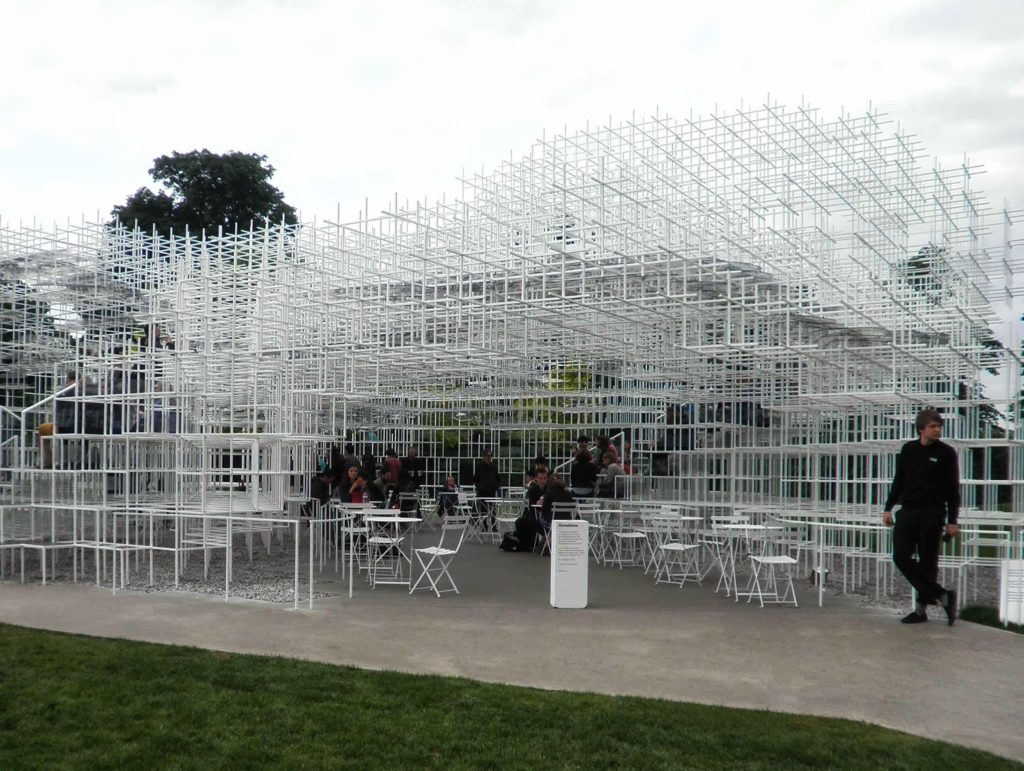 serpentine pavillion londra