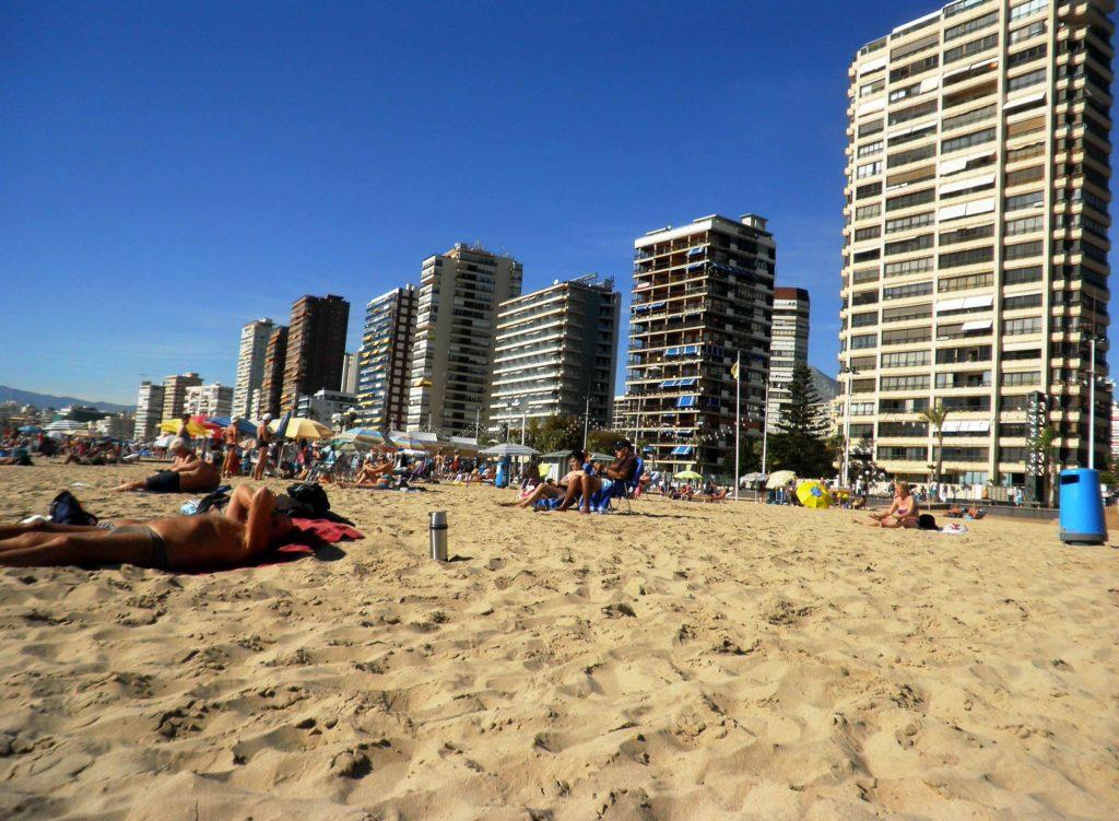 benidorm spiaggia