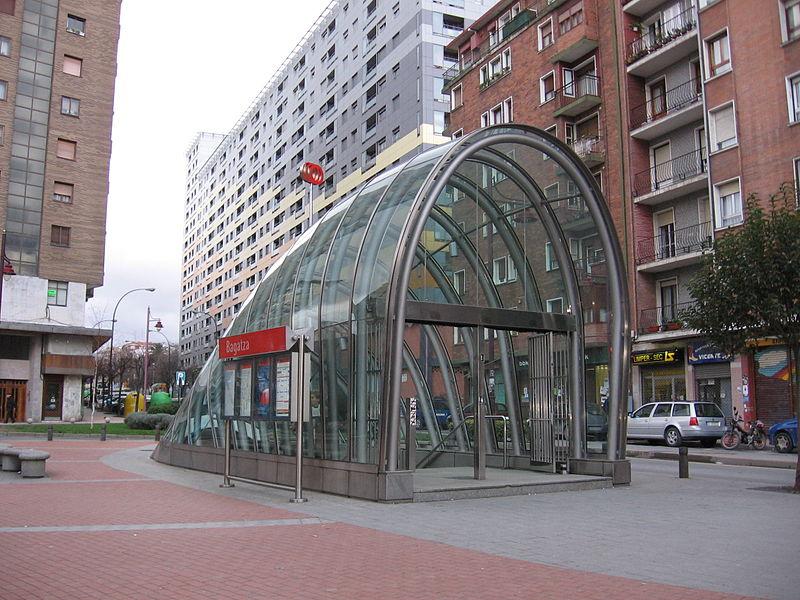 metro bilbao fosterito