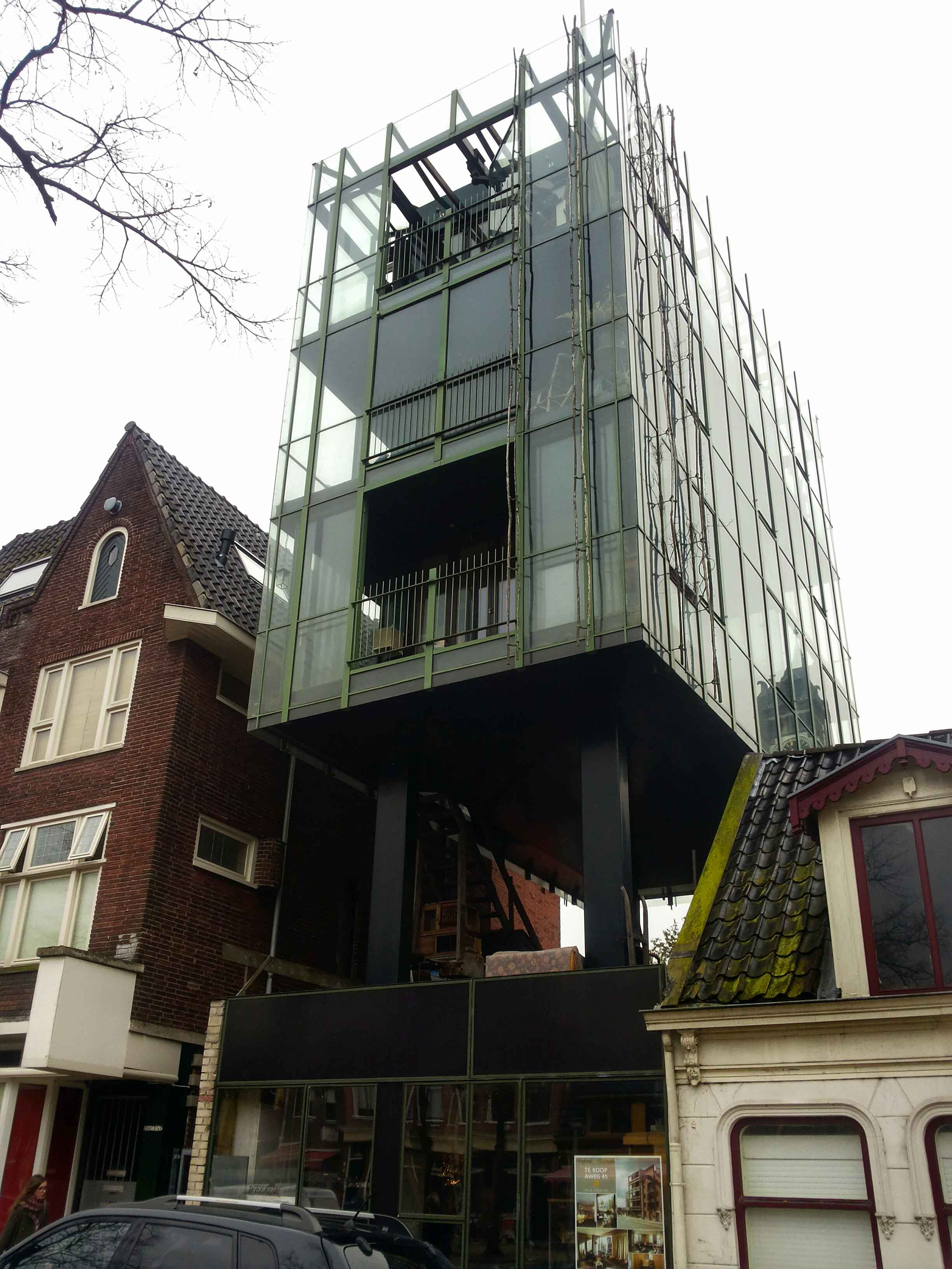 Groningen architettura contemporanea viaggi verde acido for Piccoli progetti di casa contemporanea