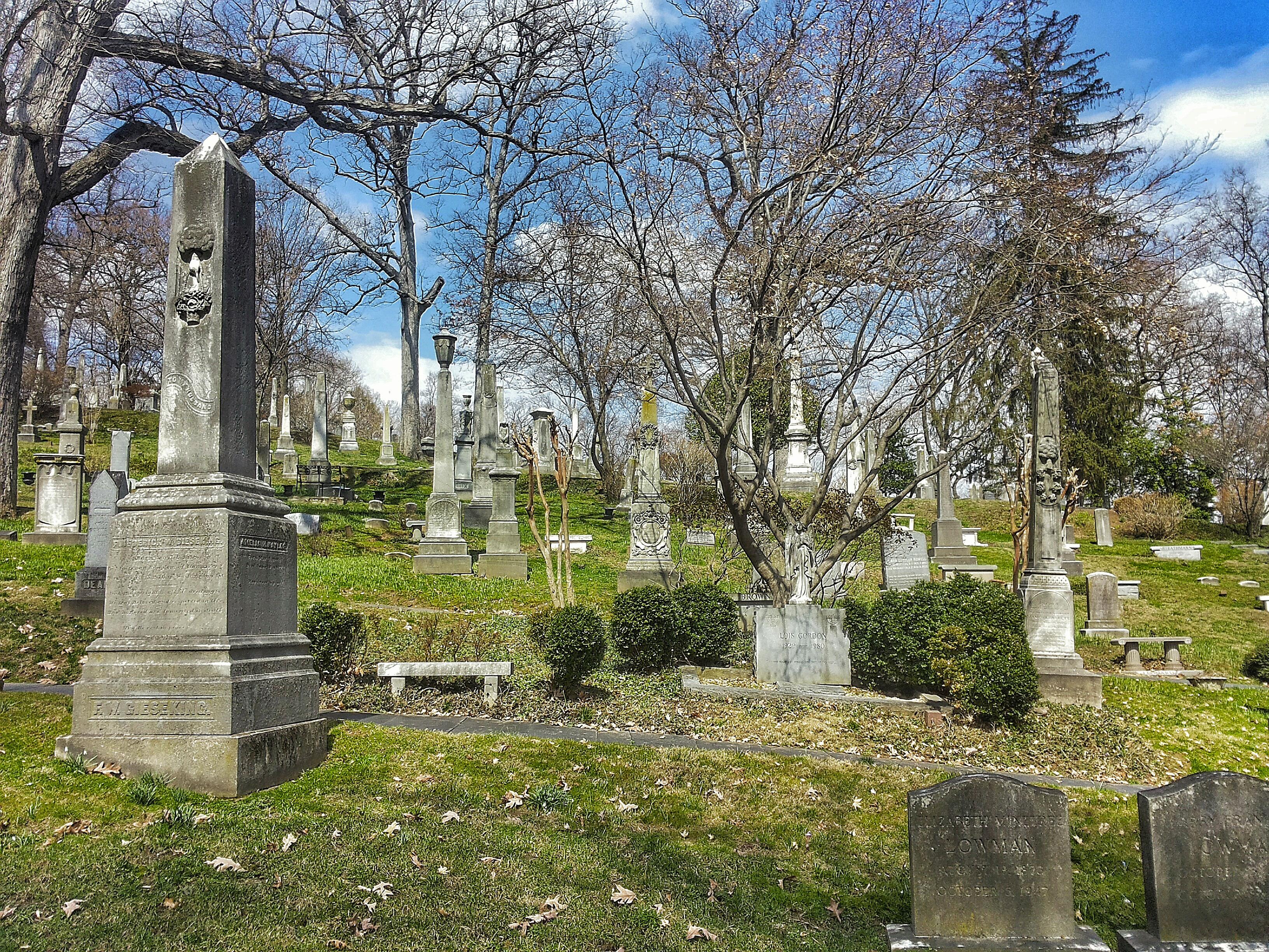 cimitero romantico