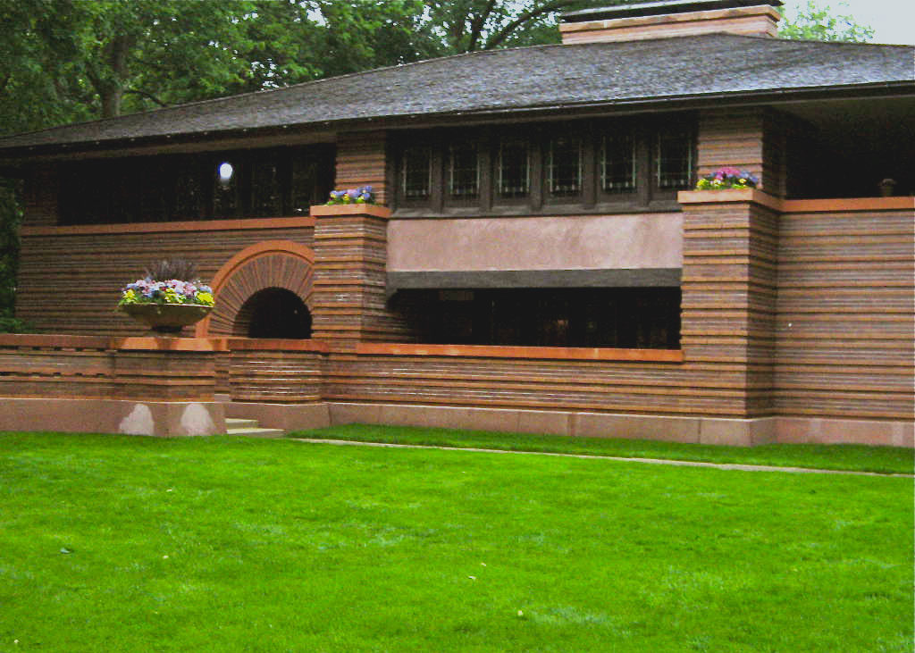 Frank lloyd wright a chicago itinerario di architettura for Frank lloyd wright piani per la casa