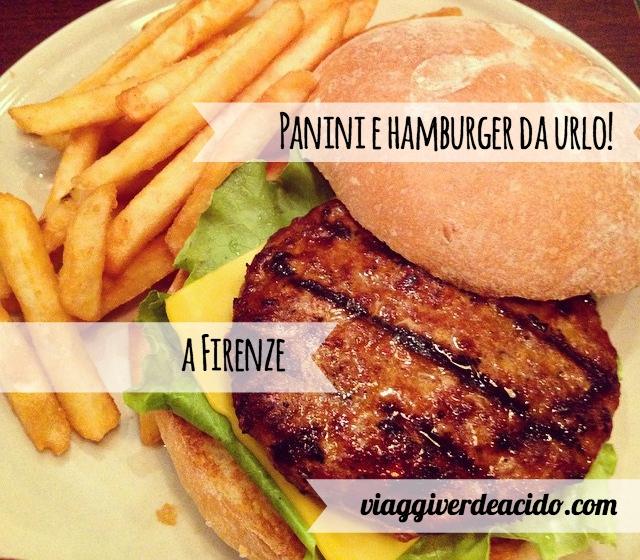 hamburger a Firenze