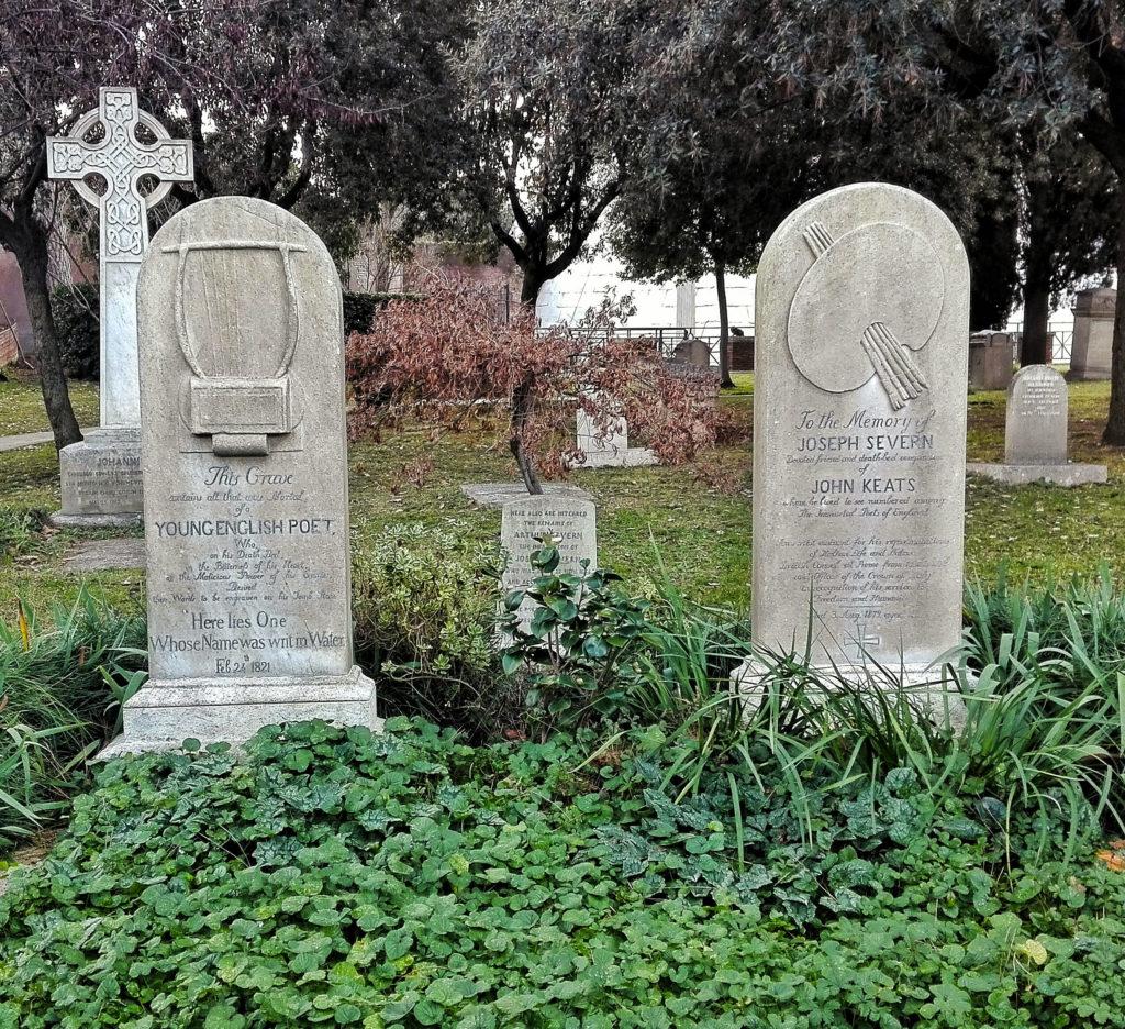 cimitero acattolico keats