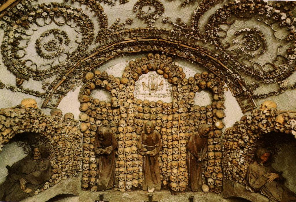 cripta dei cappuccini via veneto