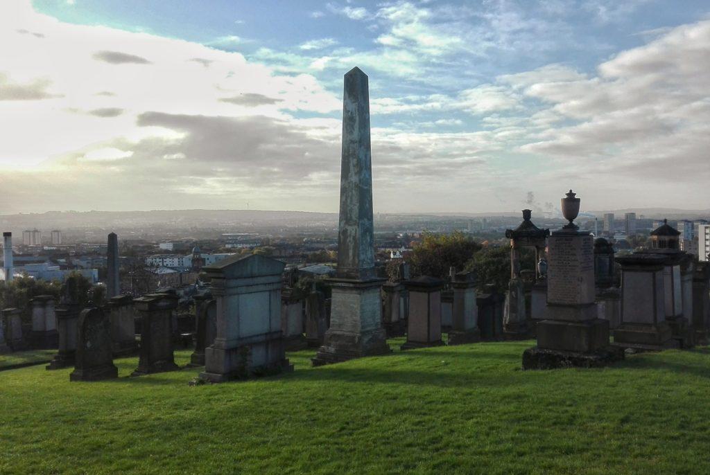 glasgow necropolis cimitero