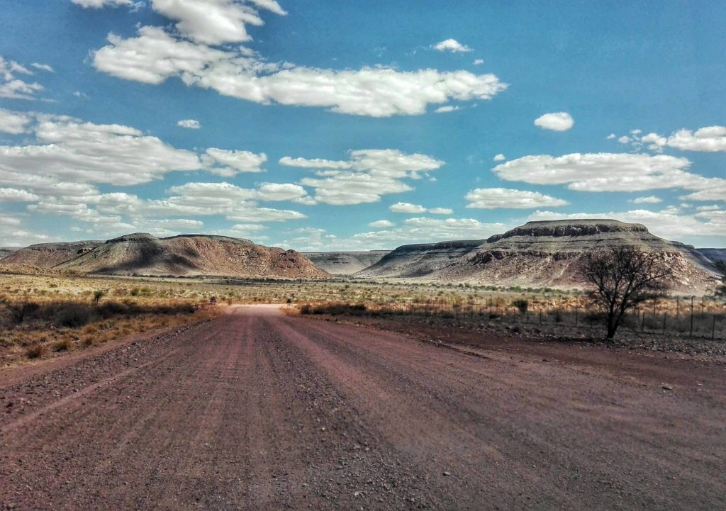 itinerario in namibia