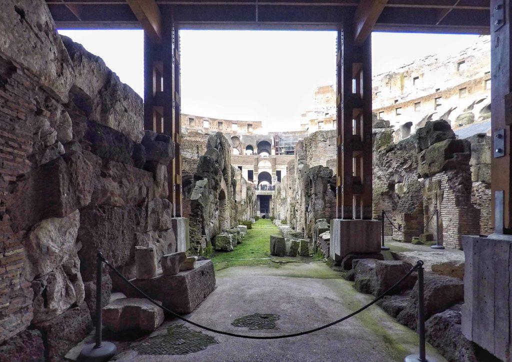 roma sotterranea colosseo