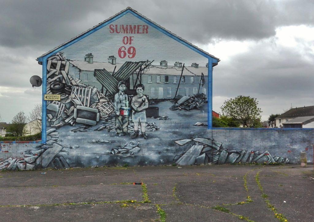 viaggio belfast murales
