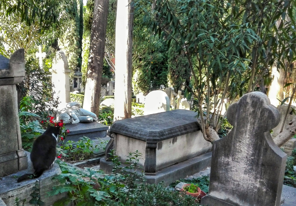 cimiteri italiani da visitare roma