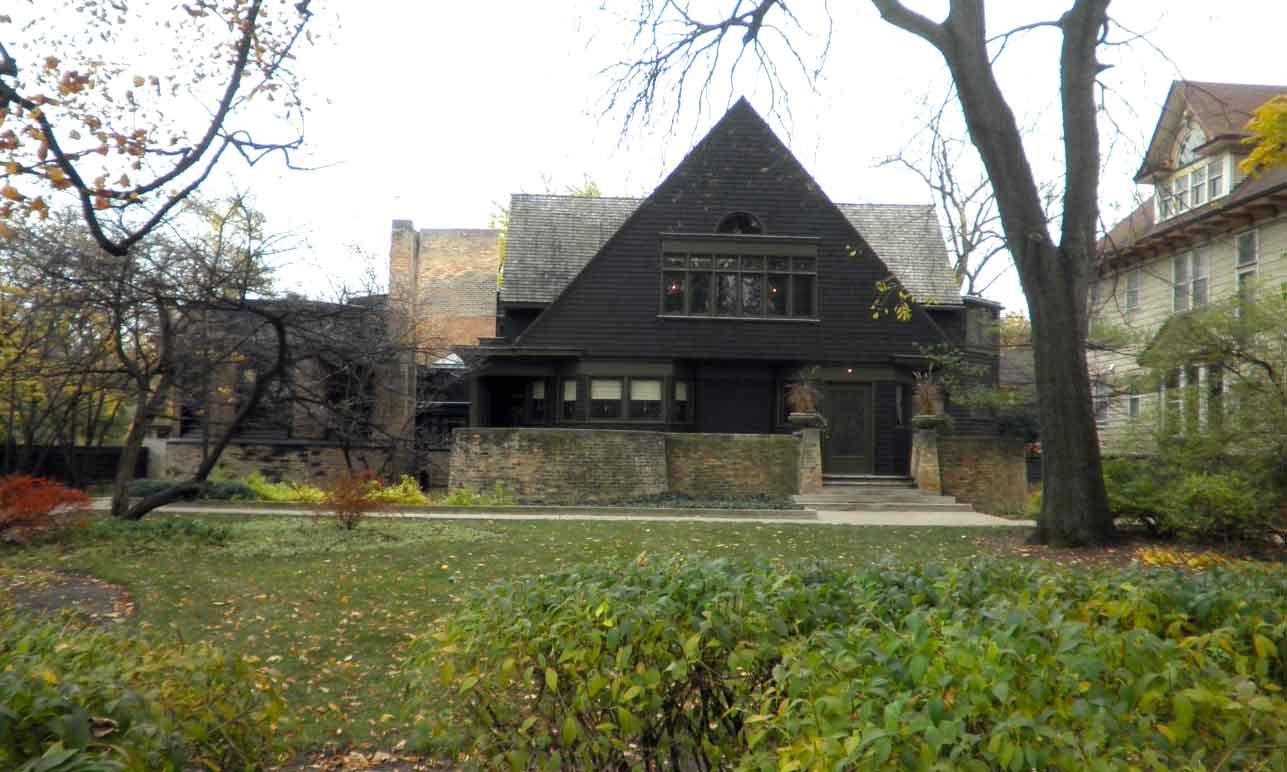 Casa museo e studio di frank lloyd wright oak park for Frank lloyd wright piani casa della prateria