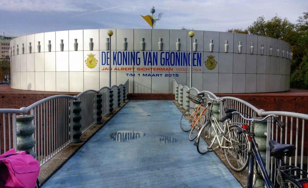 padiglione di philippe starck a groningen, olanda