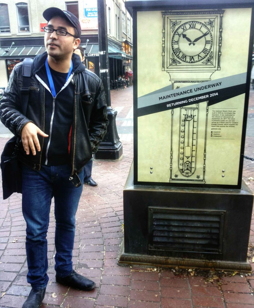 gastown orologio a vapore