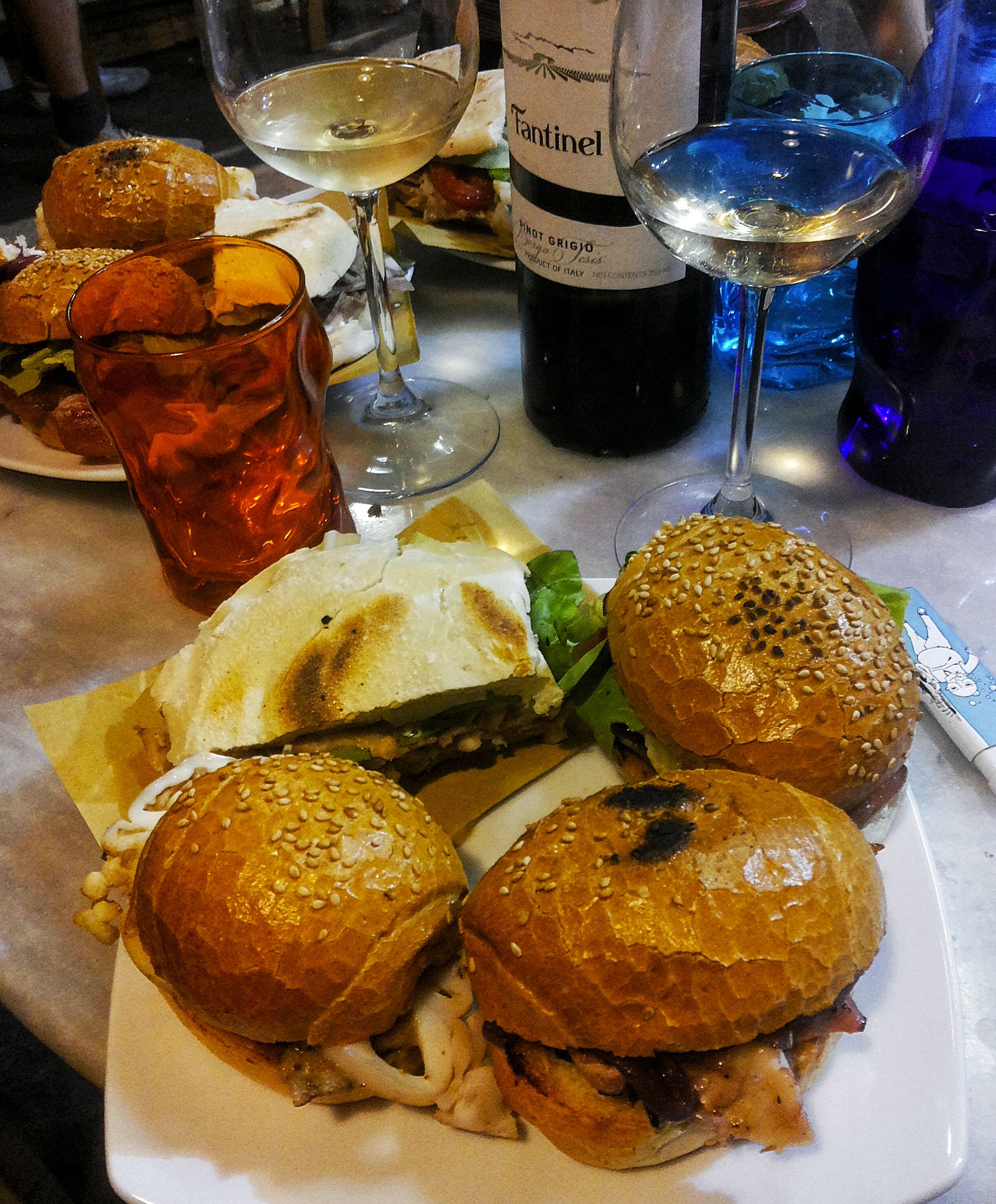 panini hamburger a Firenze
