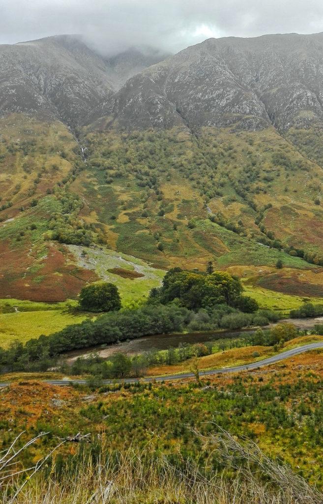 paesaggio del ben nevis
