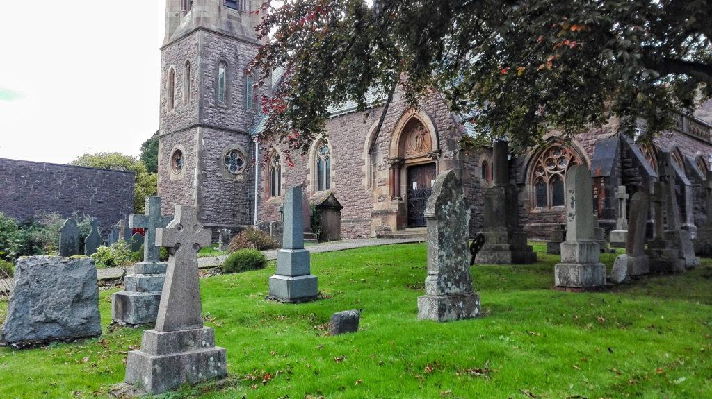 chiesa e cimitero di fort william scozia