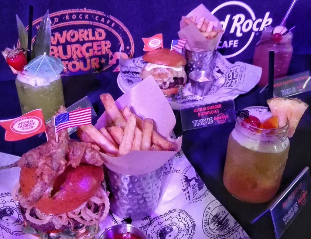 World Burger Tour Hard Rock Cafe Weekend Broward