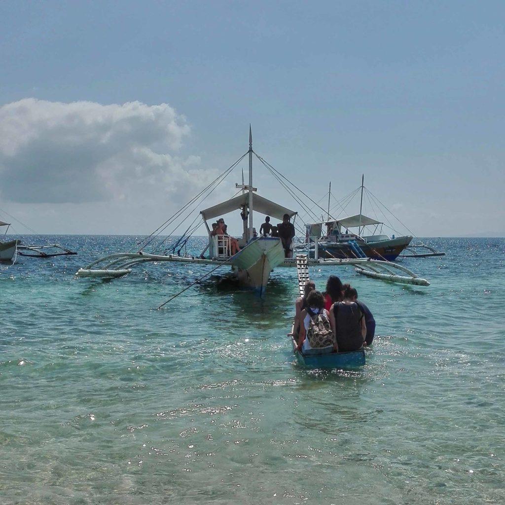 viaggio filippine barca