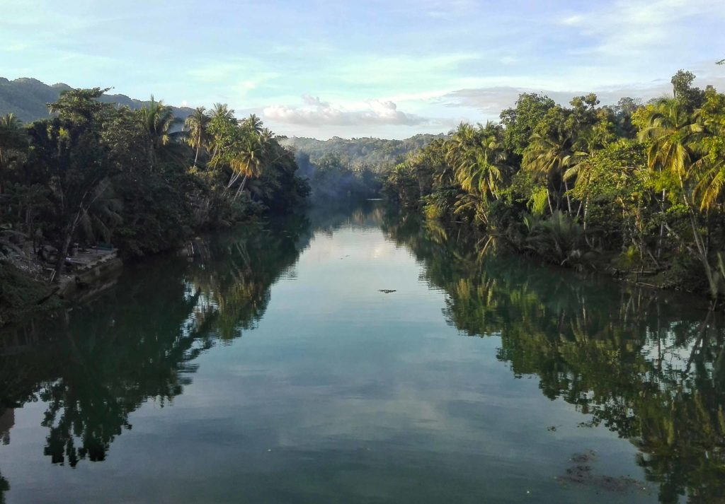 bohol filippine loboc river