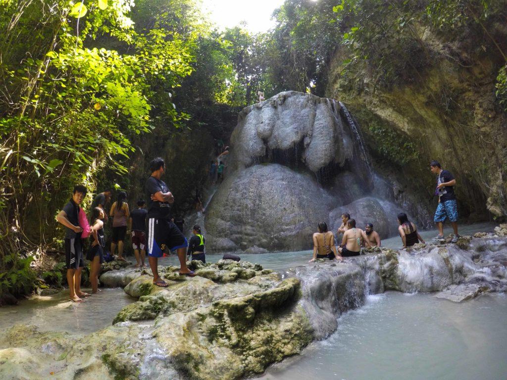 oslob aguinid falls