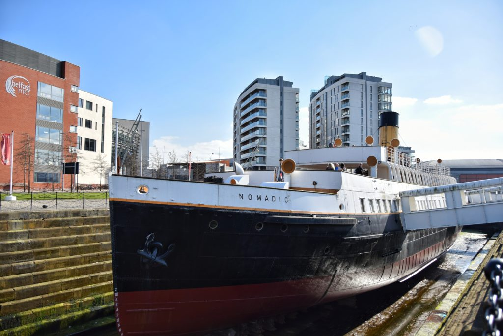 belfast ss nomadic titanic
