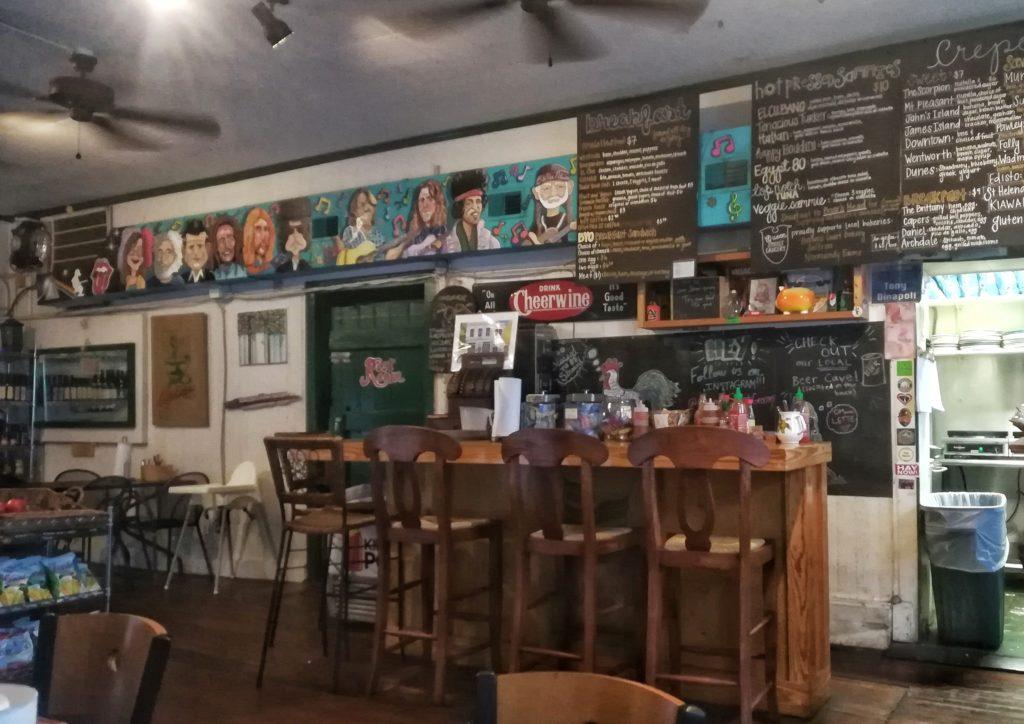 charleston dove mangiare